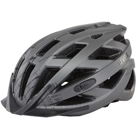 UVEX City I-VO Helm dark silver mat